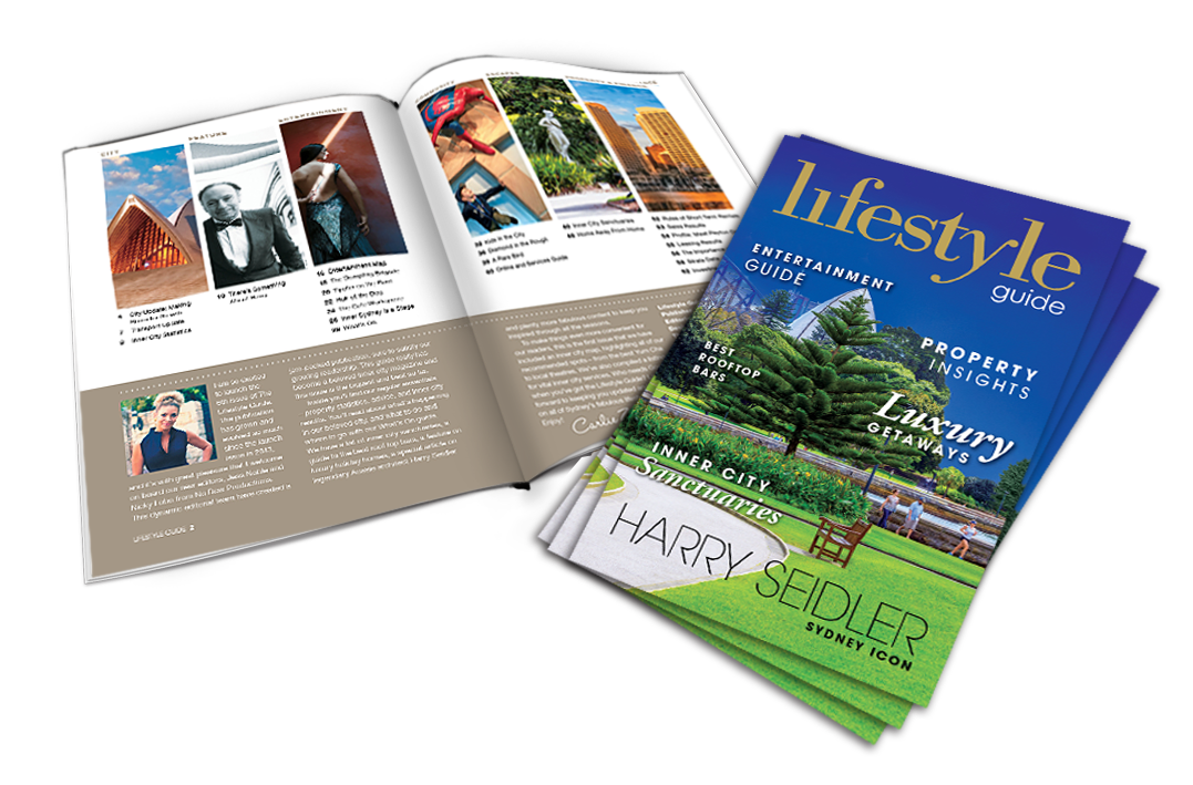 Lifestyle Guide Sydney 2016