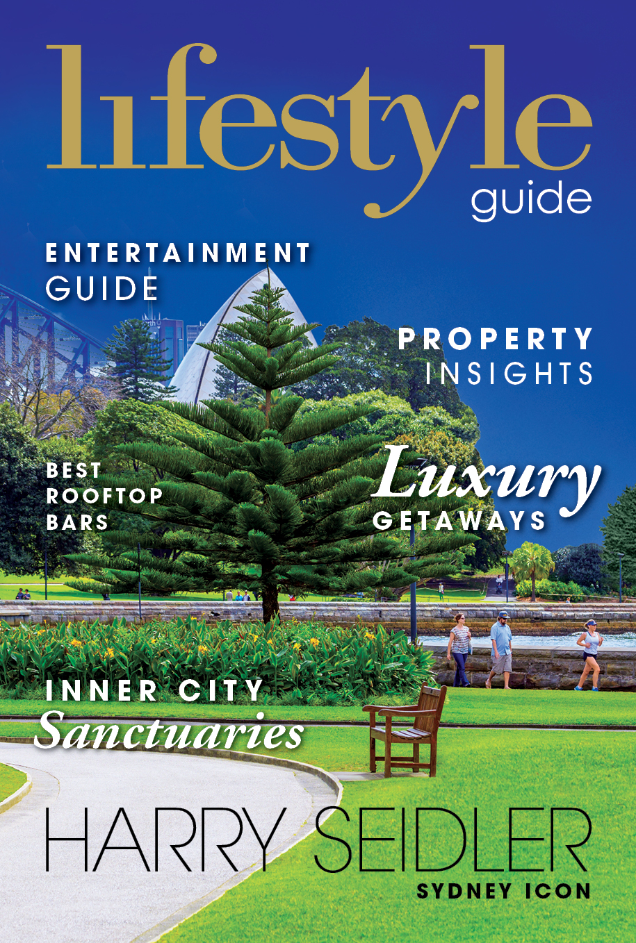 The Lifestyle Guide 2016, Harry Seidler, Sydney Icon